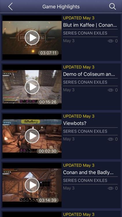 GameNet for - Conan Exiles