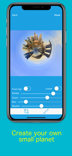 ‎Planetical - Tiny planet App Screenshot