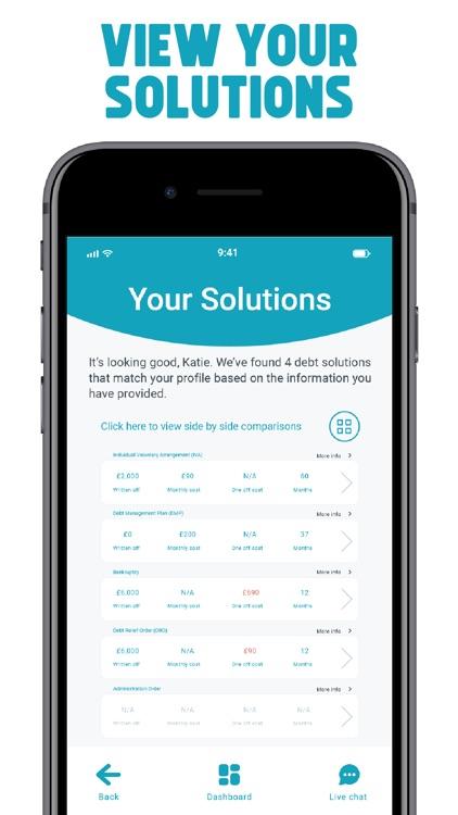 Freeze Debt: Solution & Advice screenshot-6