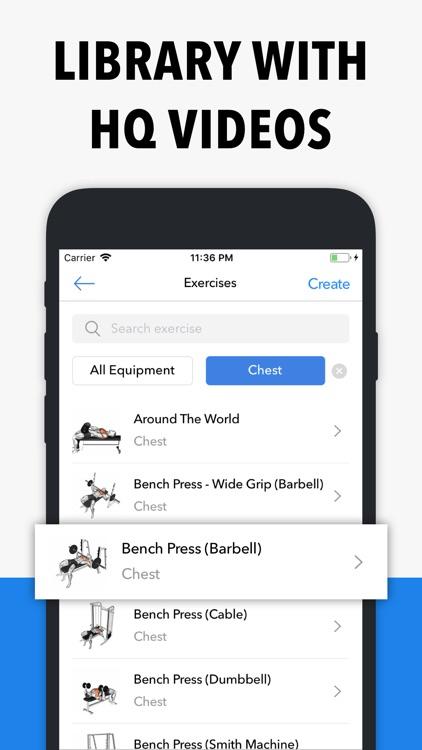 Hevy - Weight Lifting Tracker screenshot-8