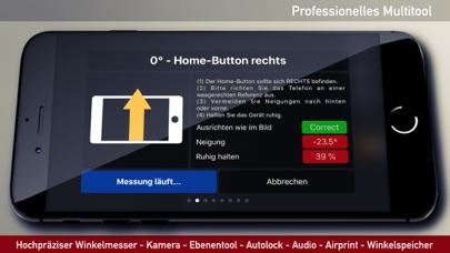 Winkelmesser, Wasserwaage AppScreenshot von 6