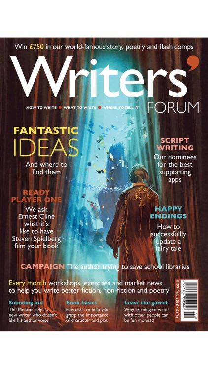 Writers' Forum Magazine screenshot-3