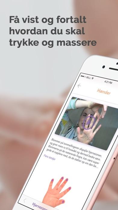 Screenshot for Tryk og glad: Baby zoneterapi in Denmark App Store