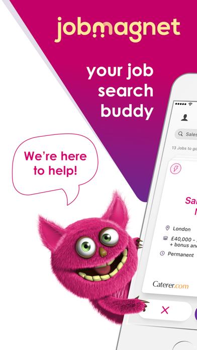 jobmagnet job search screenshot one