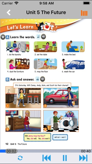 牛津少儿英语Let's go 5 screenshot #3