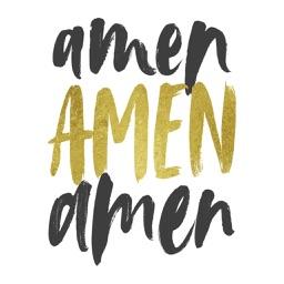 Amen: Christian Stickers