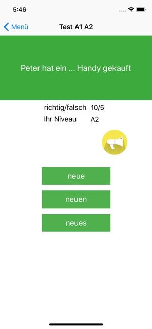 Deutsch Test A1 A2 B1 Prüfung Im App Store