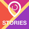Map Stories for Instagram