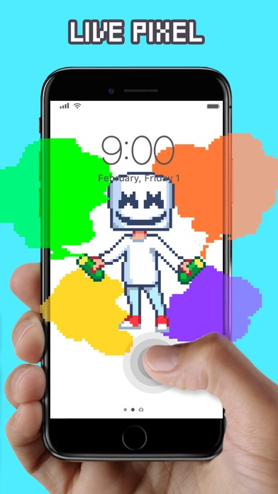 Screenshot for WOW Pixel - Live Wallpapers in Jordan App Store