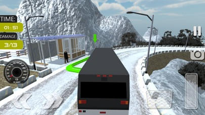 Offroad Tourist Bus Sim screenshot two