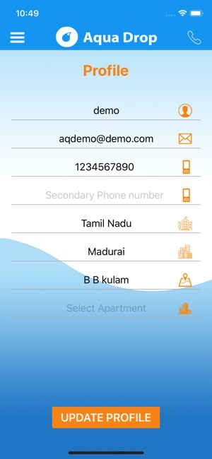 The Aqua Drop - Water delivery on the App Store