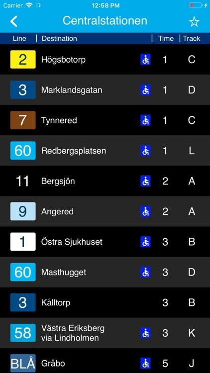 Timespot for Västtrafik screenshot-8