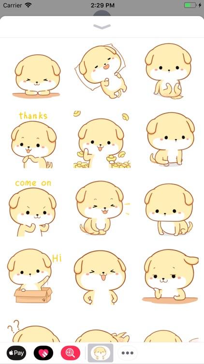 Labrador Dog Cutie Stickers