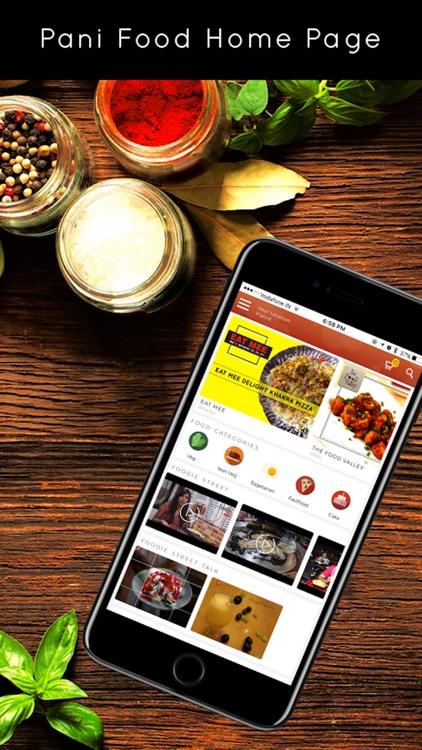 Pani Food - Free Food Delivery