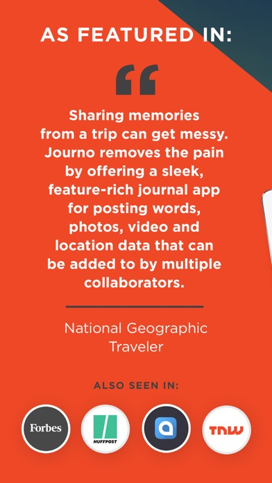 Journo - 旅遊雜誌屏幕截圖9