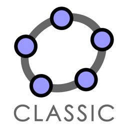 Ícone do app GeoGebra Classic