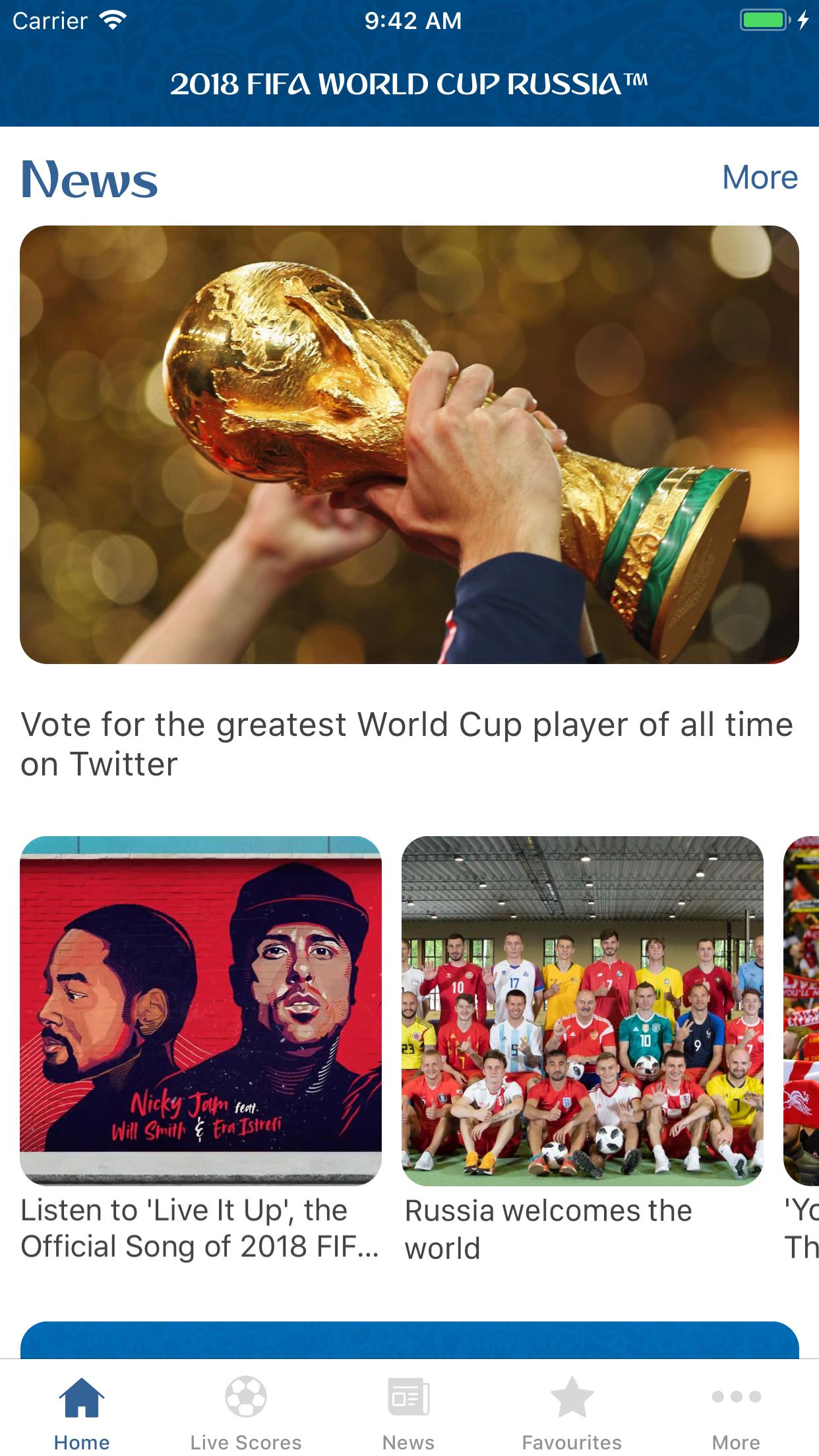 2018 FIFA World Cup Russia™ Screenshot