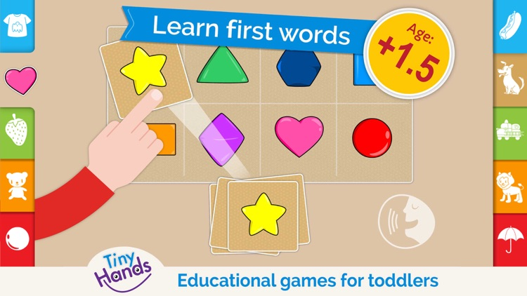 First words kids learn to read screenshot-0