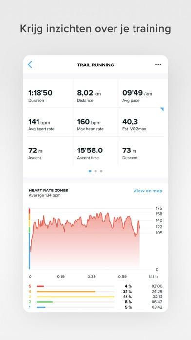 Suunto iPhone app afbeelding 2