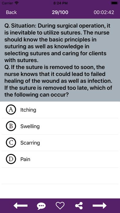Nursing Quiz 10000+ QuestionsScreenshot of 5