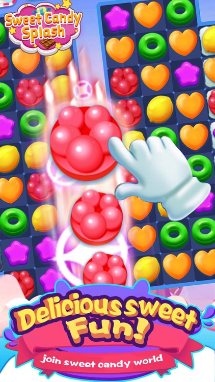 Candy Blast Mania Sugar Games screenshot-3