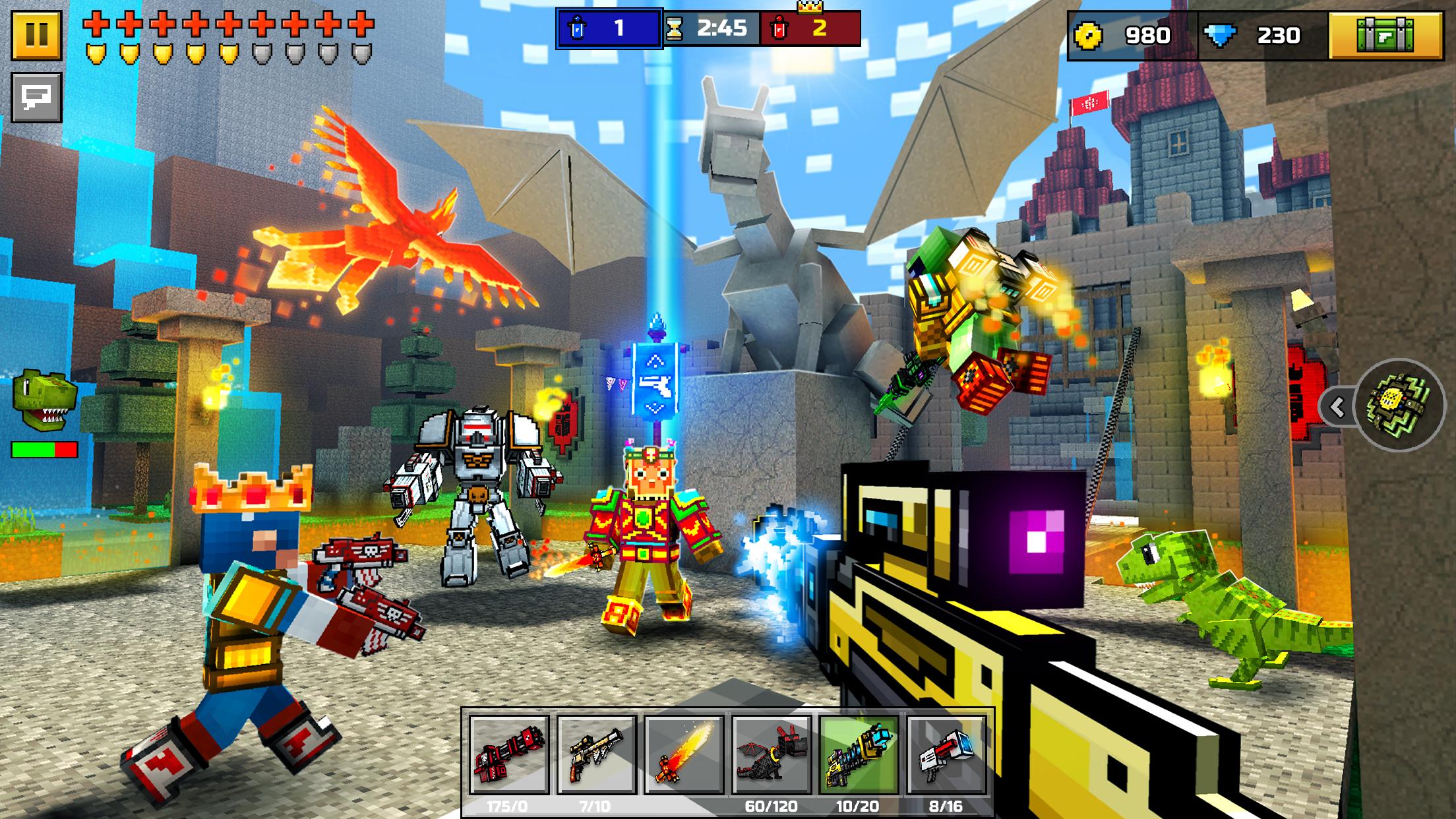 Pixel Gun 3D: Battle Royale Screenshot