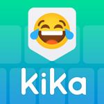 Клавиатура Kika - темы, Emojis на пк
