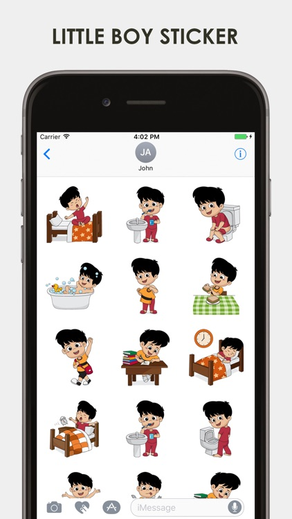 Little Boy Emojis