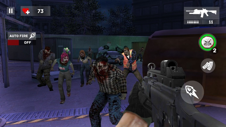 Dead Creeps: FPS Zombies Halt screenshot-3
