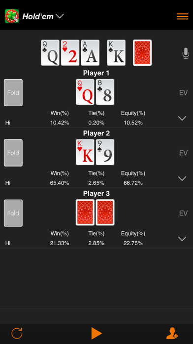 Enterra Poker Calculator | App Price Drops