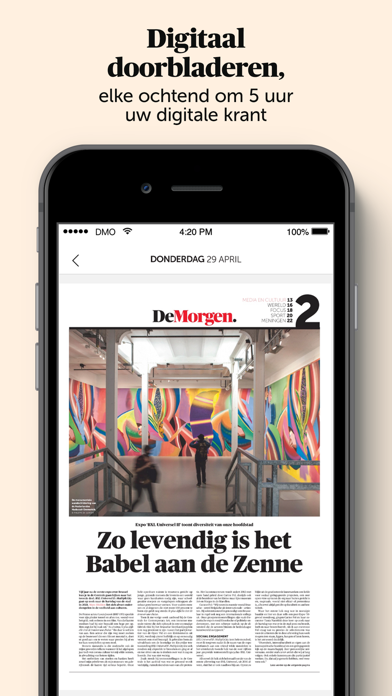 De Morgen - Nieuwsのおすすめ画像4