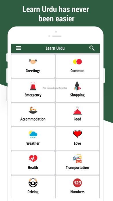 Learn Urdu Language App screenshot one