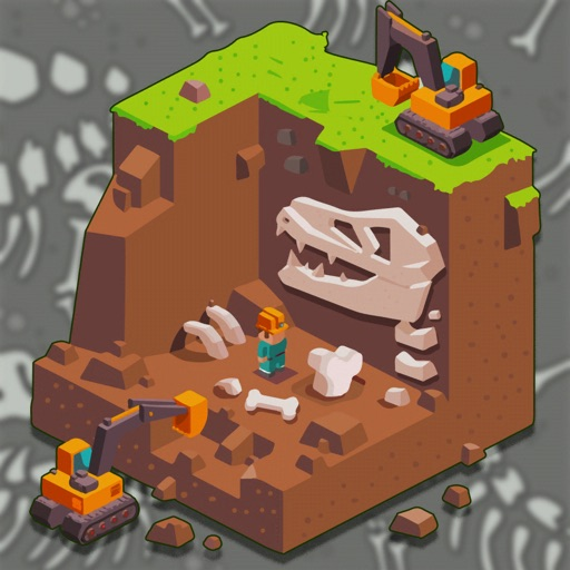 Dinosaurs Quest Bone Digging