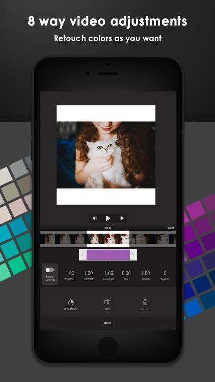 Vimo - Video editor & maker screenshot-5