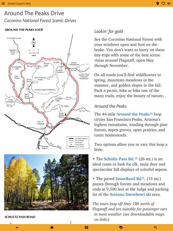 Grand Canyon & Flagstaff Guide screenshot 11