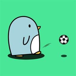 Animated Cute Penguin Stickers