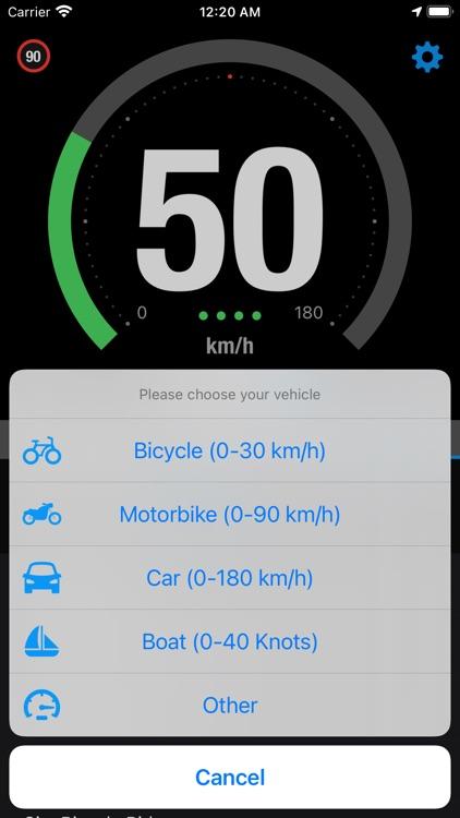 Speedo - Smart GPS Speedometer screenshot-5