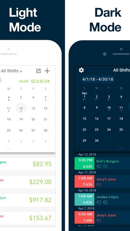 Clock In - Work Hours Tracker screenshot-5