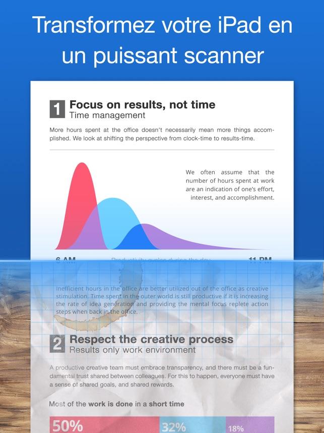 Scanner Pro Capture d'écran