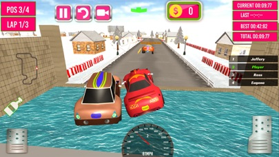 Kids Rally Cars 3D screenshot three