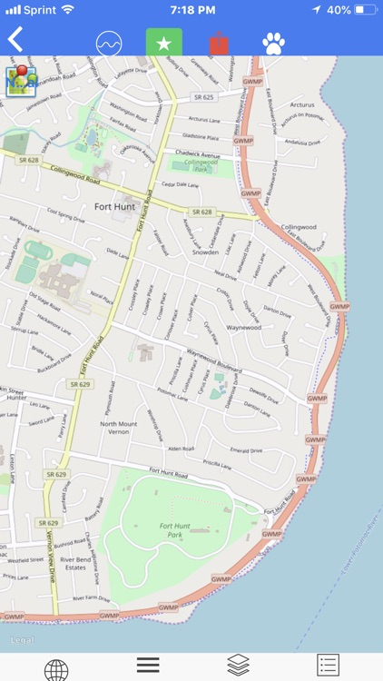 George W. Mem. Pkwy Tour Maps screenshot-3