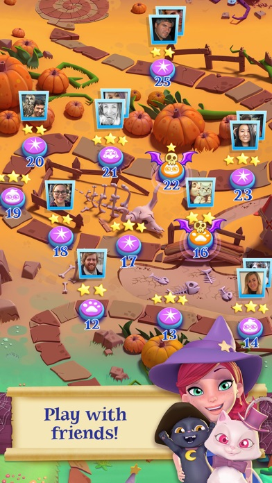 Bubble Witch 2 Saga Screenshots