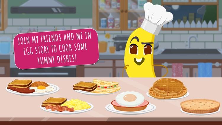 Egg Story - Fruits Vs Veggies screenshot-0