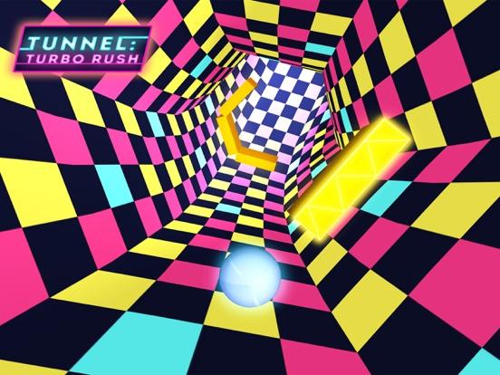Tunnel: Turbo Rush Ballz Game-ipad-0