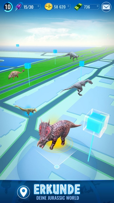 Screenshot 1 Jurassic World™ Alive