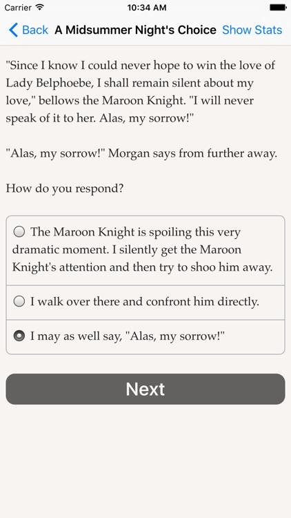 A Midsummer Night's Choice screenshot-3
