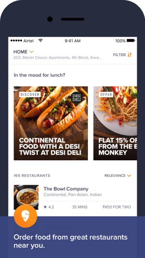 Swiggy food order delivery on the app store screenshots forumfinder Gallery