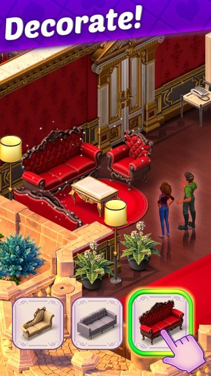 Solitaire Story: Ava's Manor screenshot-4