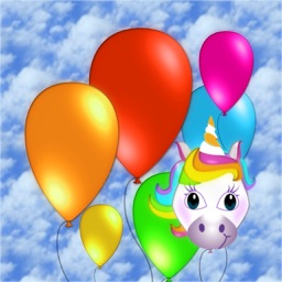 Happy Balloon and Unicorn