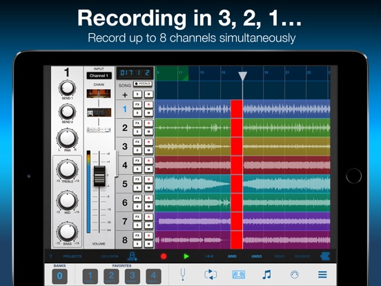 VocaLive for iPad Screenshots